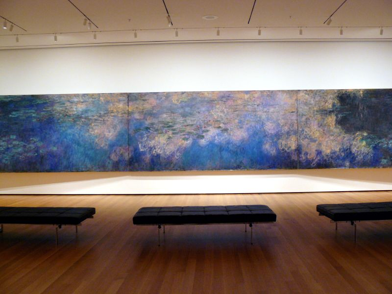 waterlilies, monet, monet verstehen, trish mayo, wikicommons