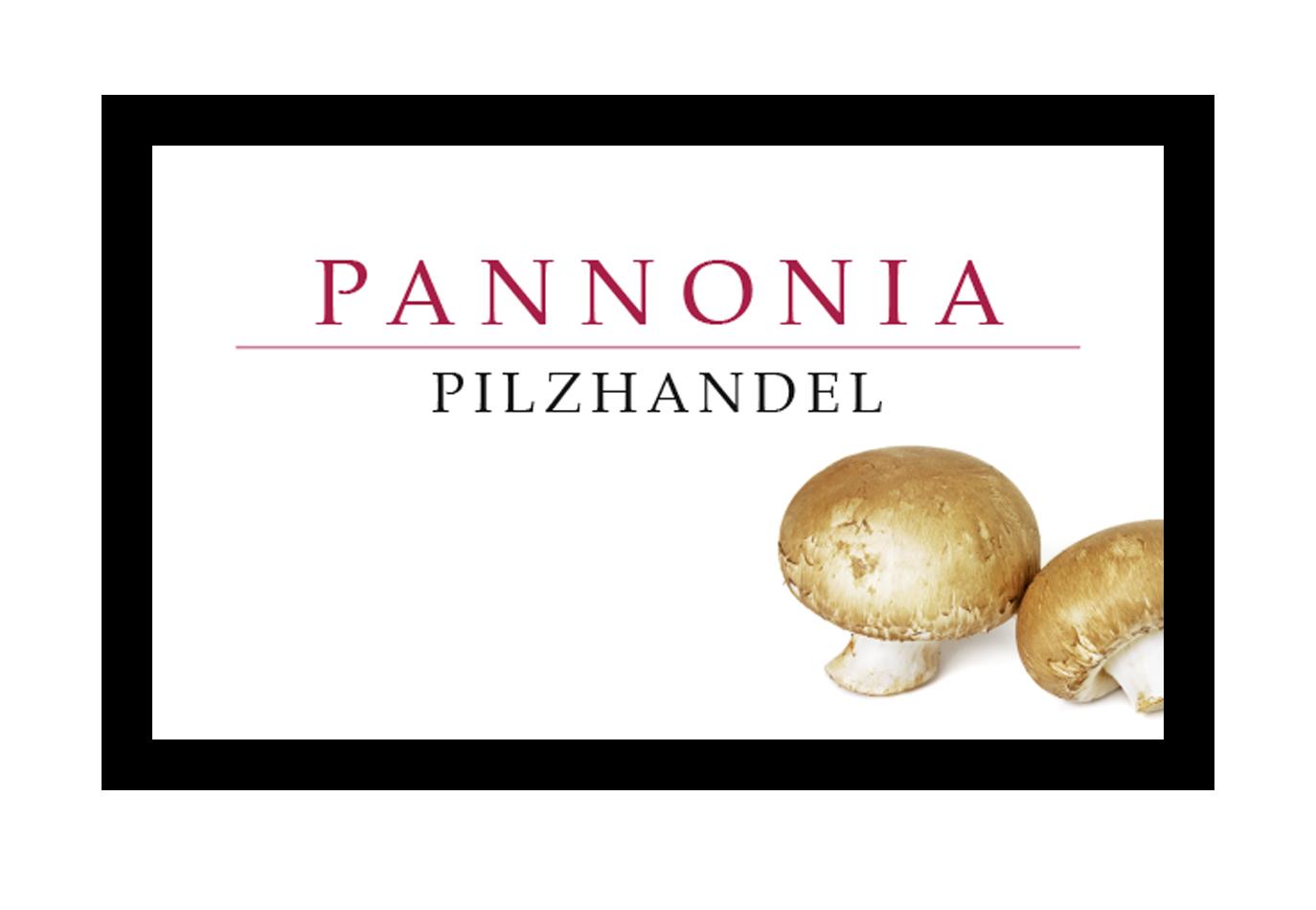 Pannonia Pilzhandel, let love guide your way, Cool Logo design, clean Logo design, Sleek chic, addesign