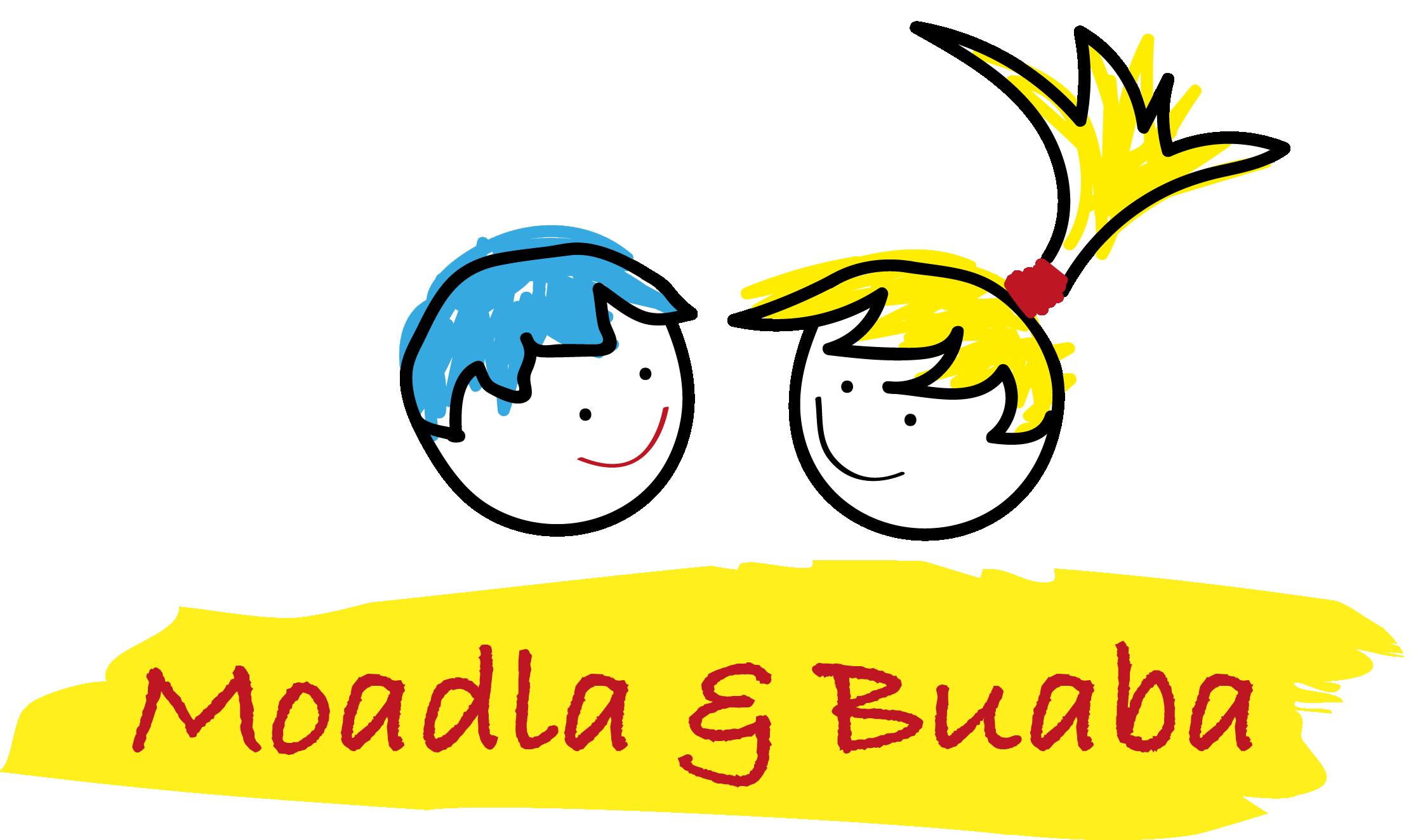 Moadla und Buabe, gemeinnütziger Verein, Logo mit Strichzeichnungen, Best practice Logo, the best logos 2019